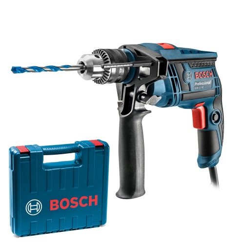 Taladro De Percusion Bosch 650w Gsb 13 Re 13mm Maletin